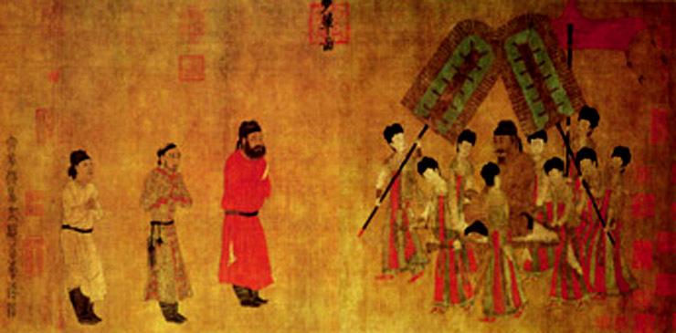 五牛图步辇图(中国古代书法名卷)